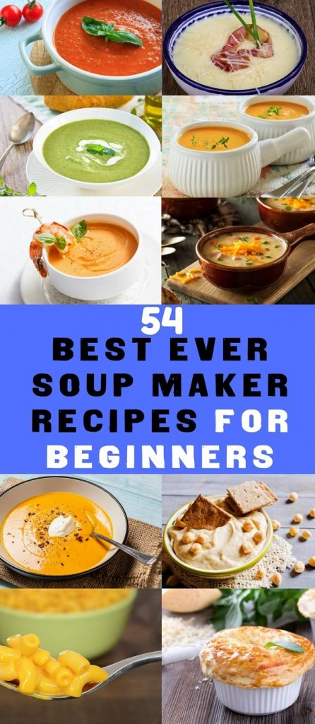 soup maker recipes Recipes for beginners