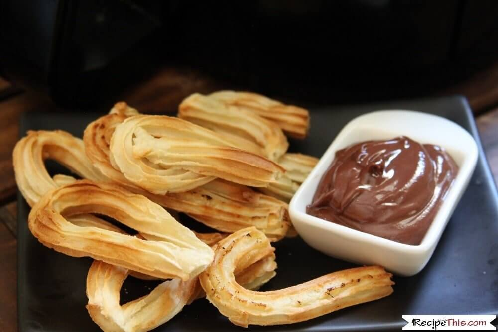 Air Fryer Frozen Churros