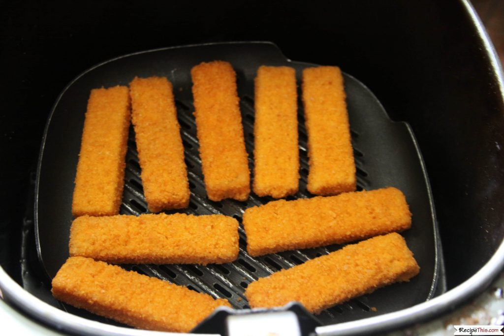 Air Fryer Frozen Fish Sticks