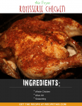 Air Fryer Rotisserie Chicken. The easiest way to cook chicken in your air fryer.