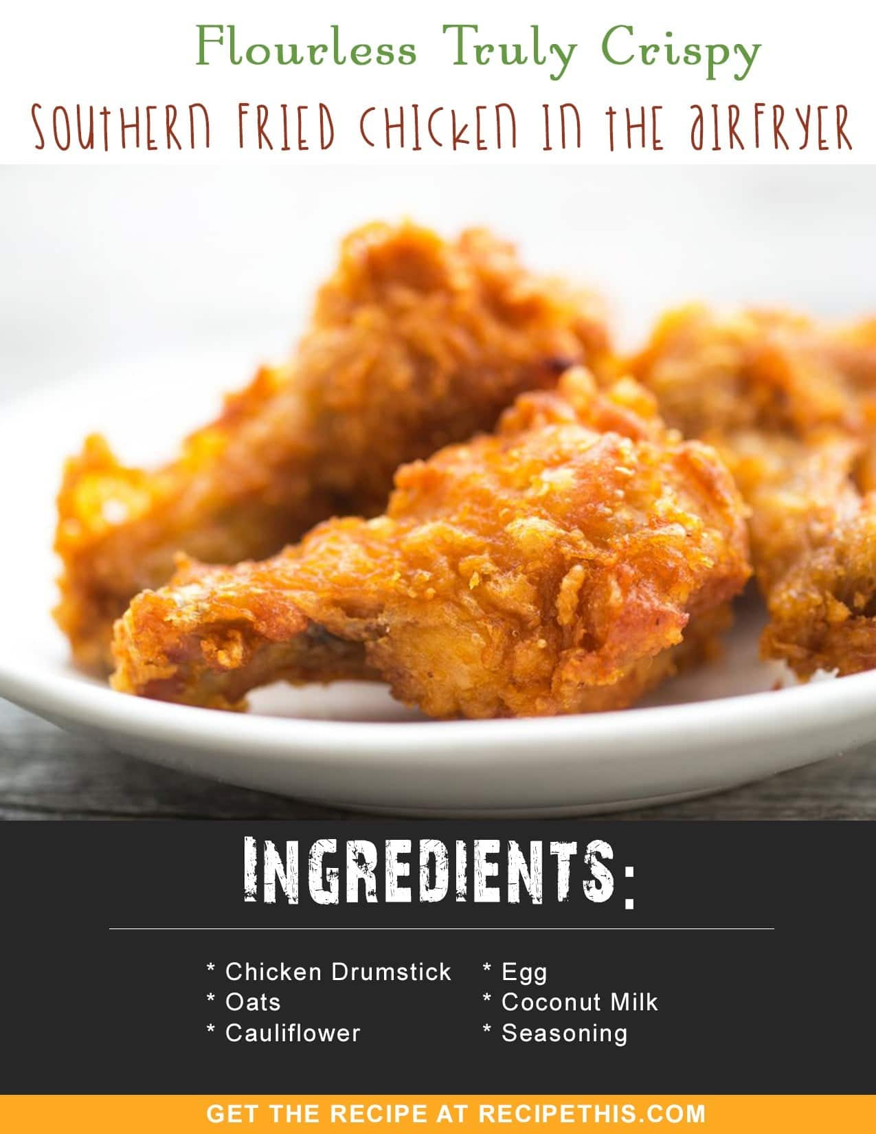 Flourless truly crispy southern fried chicken in the air fryer flourless truly crispy southern fried chicken in the air fryer recipe this forumfinder Gallery