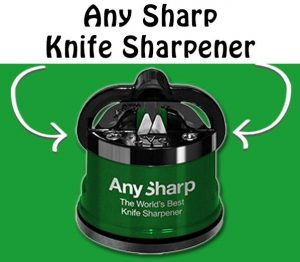 Any Sharp Knife Sharpener Review from RecipeThis.com
