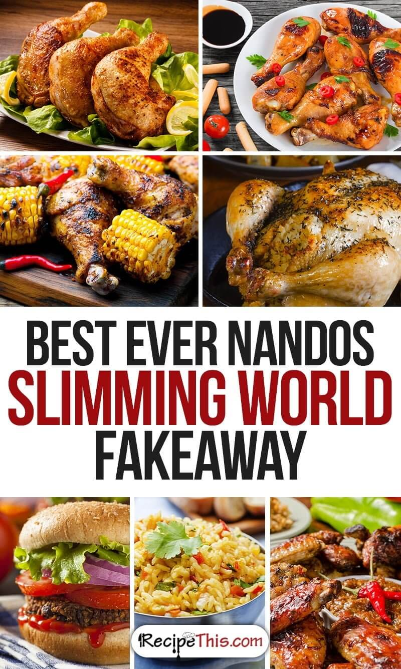 Slimming World Recipes | Top 7 Slimming World Nandos Fakeaway from RecipeThis.com