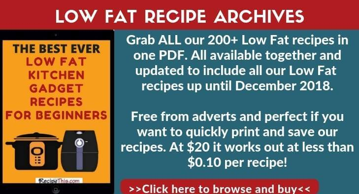 But The Low Fat Recipe Ebook