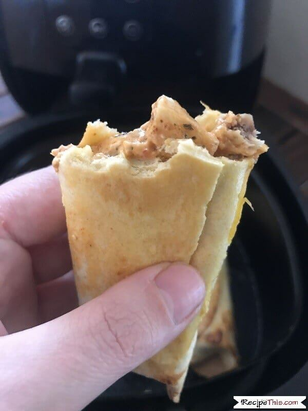 How To Air Fry Chicken Taquitos