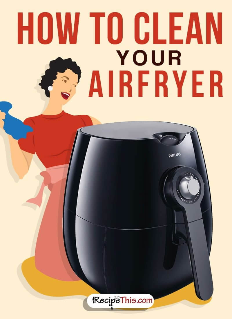 #Airfryer | How To Clean Your Airfryer