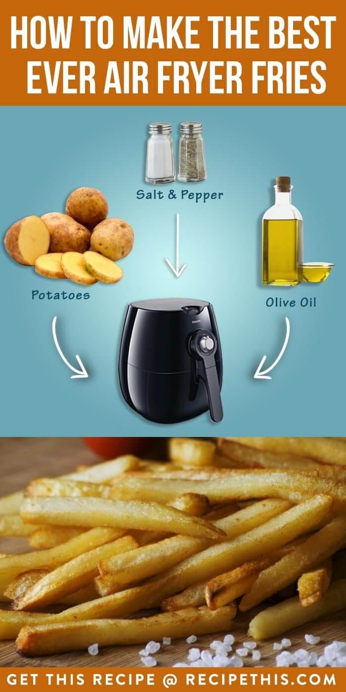 How To Make The Best Ever Air Fryer Fries