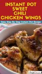 Instant Pot Sweet Chili Chicken Wings Instant Pot Recipe