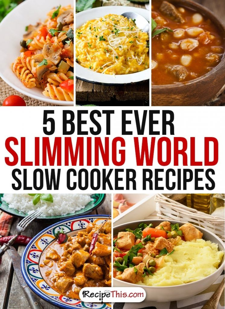 My slimming world slow cooker week recipe this Slimming world recipes for 1 person