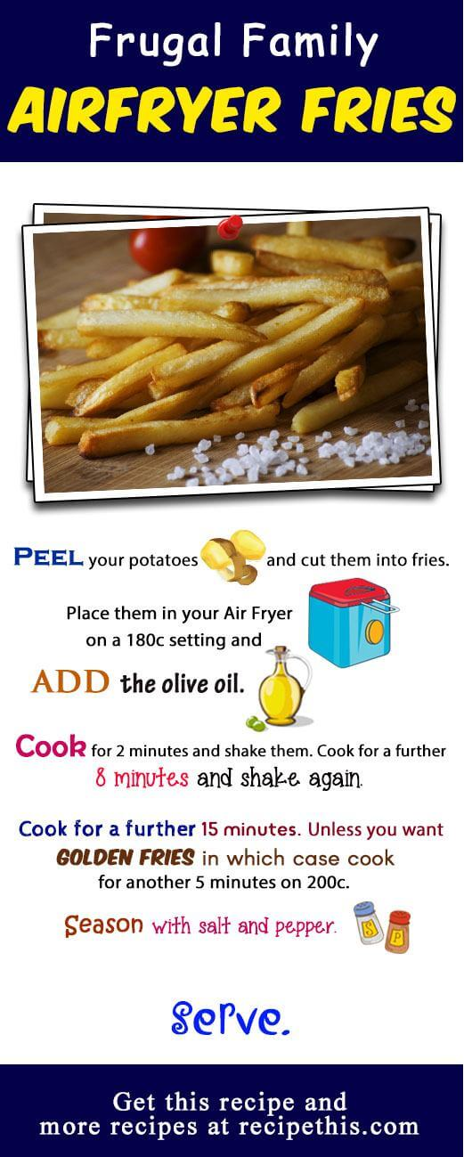How To Make The Best Ever Air Fryer Fries Recipe This