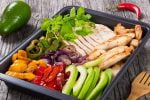 Welcome to my sizzling air fryer turkey fajitas platter recipe.