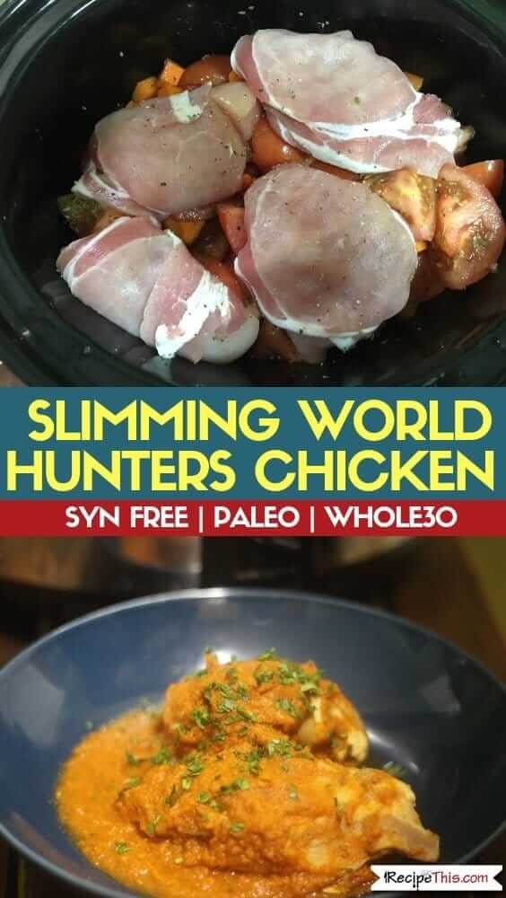 Slimming World Hunters Chicken In The Slow Cooker