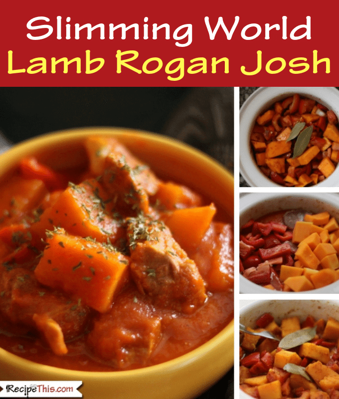 Syn Free Slimming World Lamb Rogan Josh Curry In The Slow Cooker