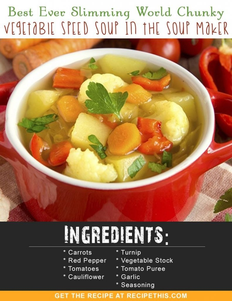 Best ever slimming world chunky vegetable speed soup in the soup slimming world recipes slimming world chunky vegetable speed soup in the soup maker recipe from forumfinder Image collections