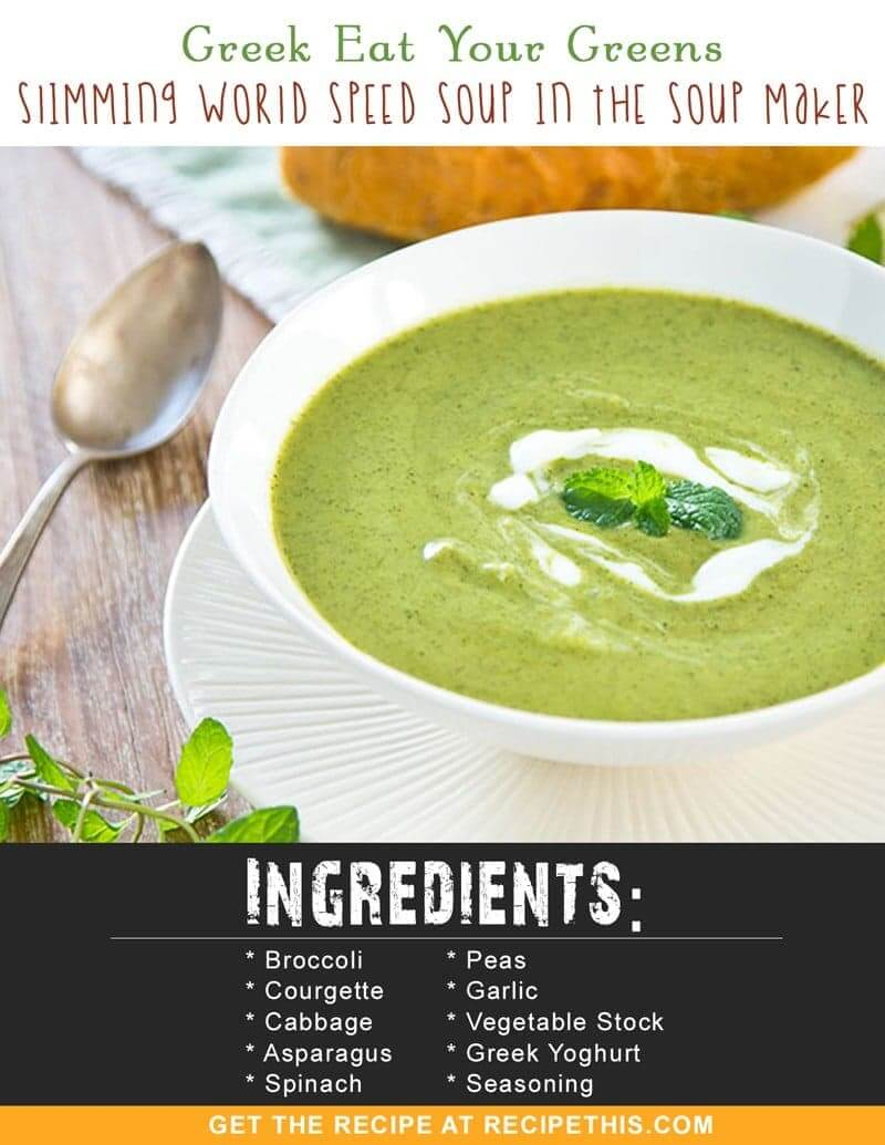 Slimming world kale soup The slimming world