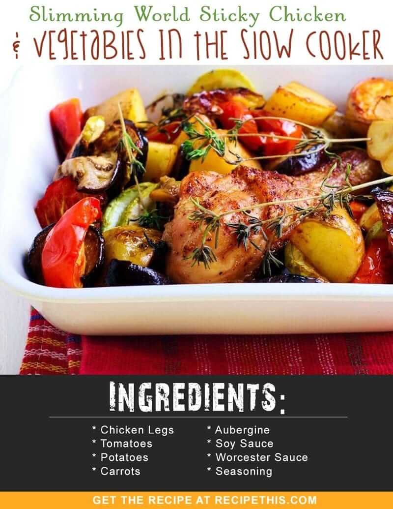 Chicken thigh slimming world recipe The slimming world