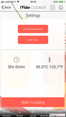 How To Use The Sous Vide App With Sous Vide Cooking