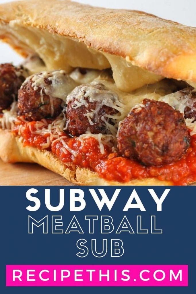 Subway Meatball Sub (air fryer copycat recipe)
