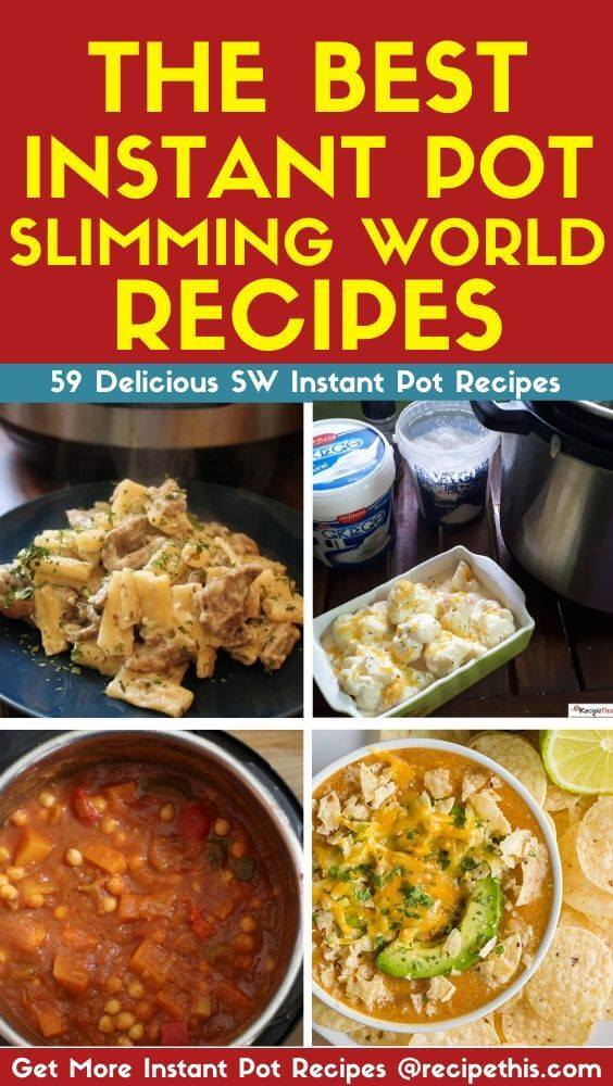 The Best Instant Pot Slimming World Recipes