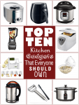 Kitchen Gadget Must Haves. Including the air fryer, instant pot and the rest of our top 10 kitchen gadgets.