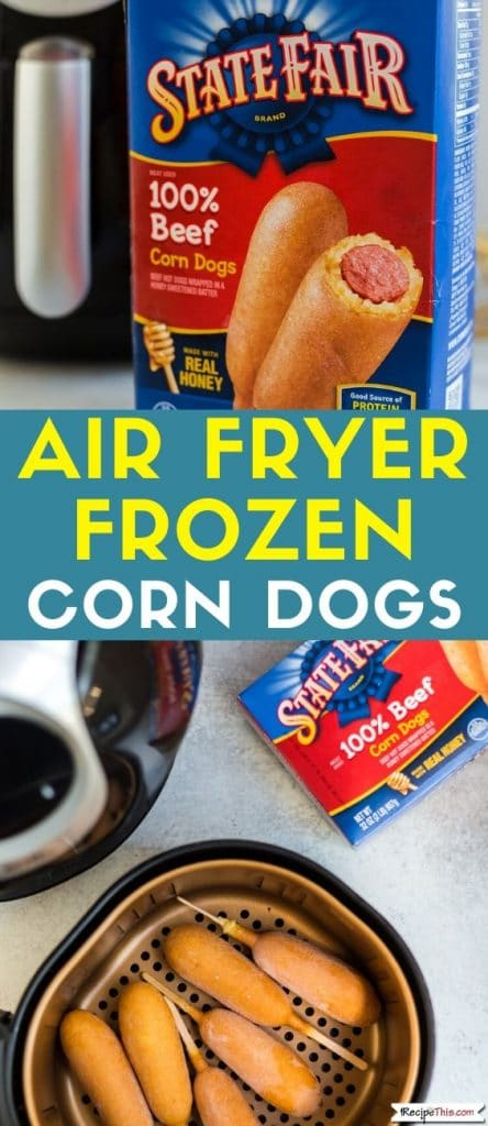 air fryer frozen corn dogs at recipethis.com
