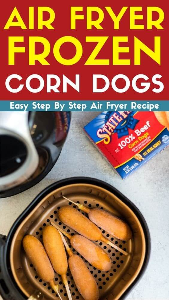 air fryer frozen corn dogs recipe