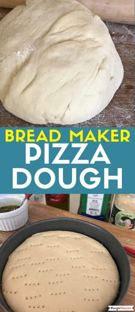 bread maker pizza dough at recipethis.com