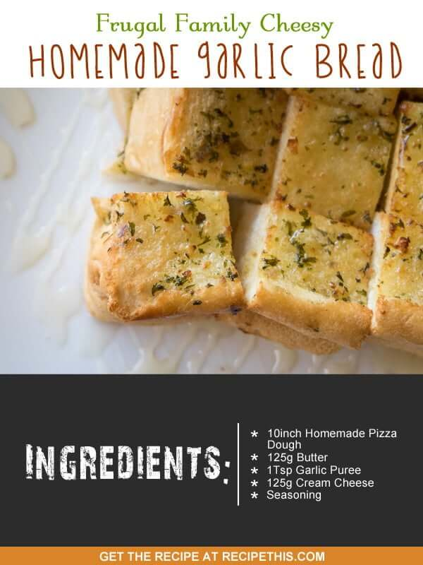 """""""garlic bread with cheese"""""""