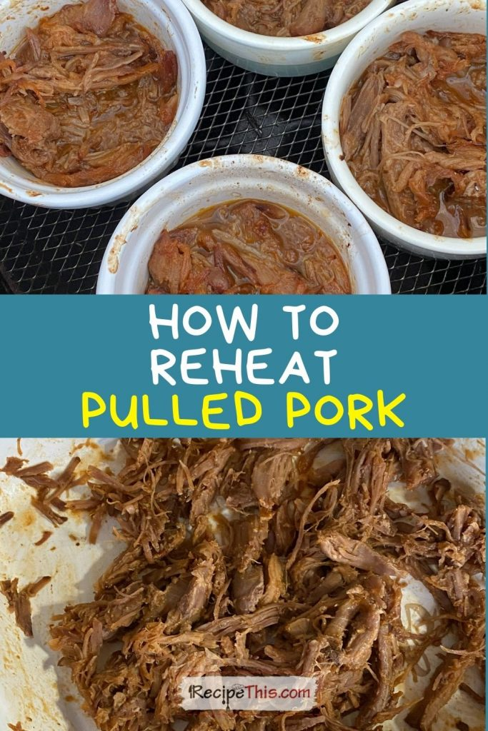 how to reheat pulled pork recipe