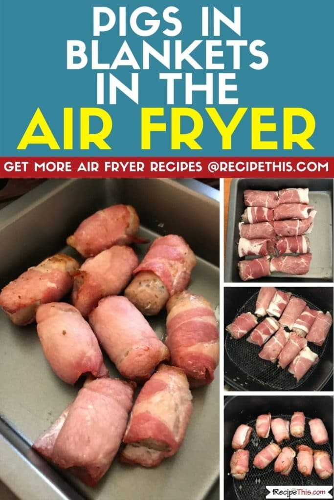 pigs in blankets in the air fryer step by step