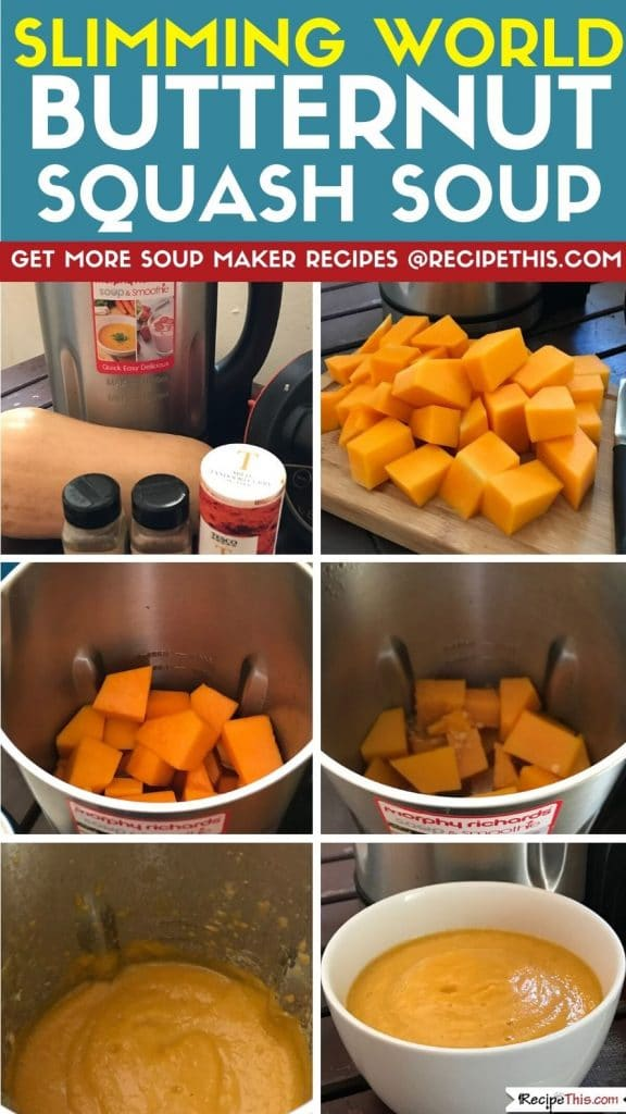 slimming world butternut squash soup step by step