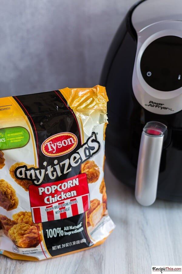 tyson popcorn chicken ingredients